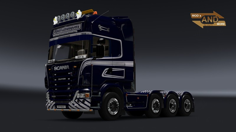 Scania R 1020 Schwertransport